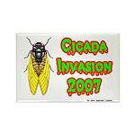 Cicada Invasion 2007 Rectangle Magnet