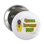 Cicada Invasion 2007 Button