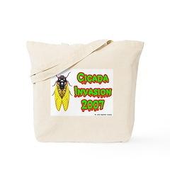 Cicada Invasion 2007 Tote Bag