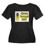 Cicada Invasion 2007 Women's Plus Size Scoop Neck