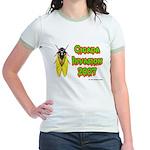 Cicada Invasion 2007 Jr. Ringer T-Shirt