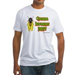 Cicada Invasion 2007 Fitted T-Shirt