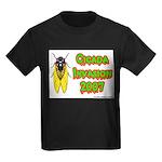 Cicada Invasion 2007 Kids Dark T-Shirt