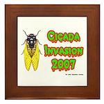 Cicada Invasion 2007 Framed Tile