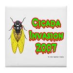 Cicada Invasion 2007 Tile Coaster