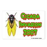 Cicada Invasion 2007 Postcards (Package of 8)