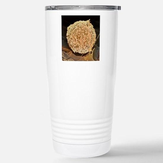 Leukaemia blood cell, S Stainless Steel Travel Mug