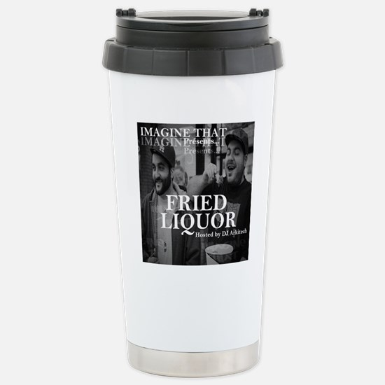 Fried Liquor Cover Stainless Steel Travel Mug