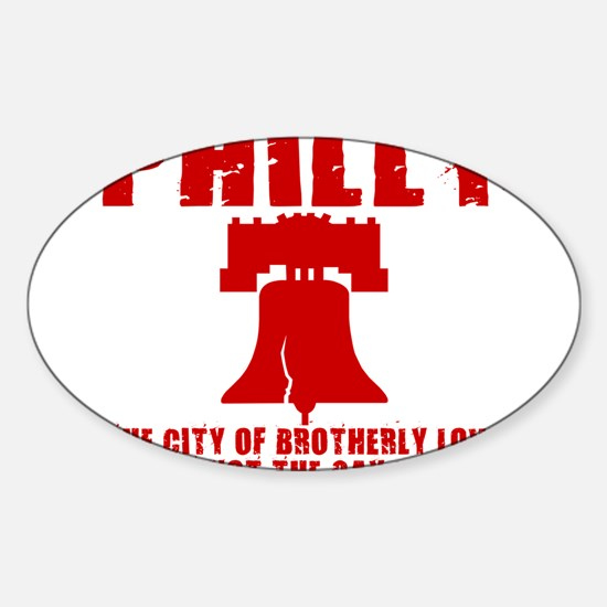 PHILIDELPHIA, PHILLY, PENNS Oval Decal
