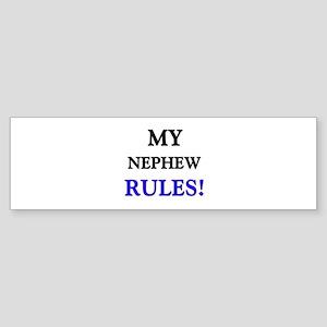 My NEPHEW Rules! Bumper Sticker
