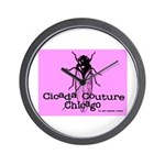 Cicada Couture Chicago Wall Clock