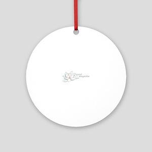 Sweet Magnolia Ornament (Round)