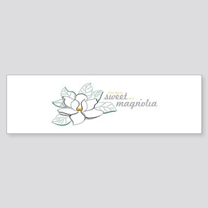 Sweet Magnolia Bumper Sticker