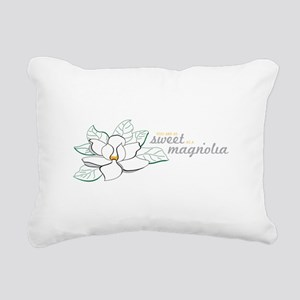 Sweet Magnolia Rectangular Canvas Pillow