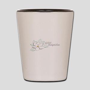Sweet Magnolia Shot Glass