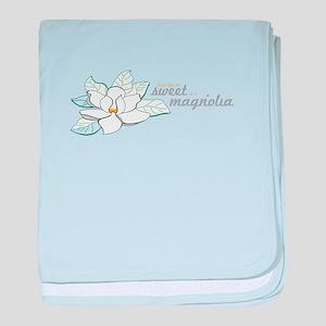 Sweet Magnolia baby blanket
