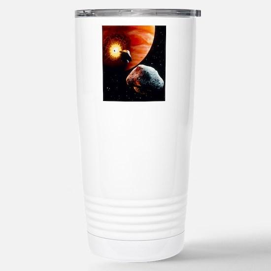 Artwork of first comet  Stainless Steel Travel Mug