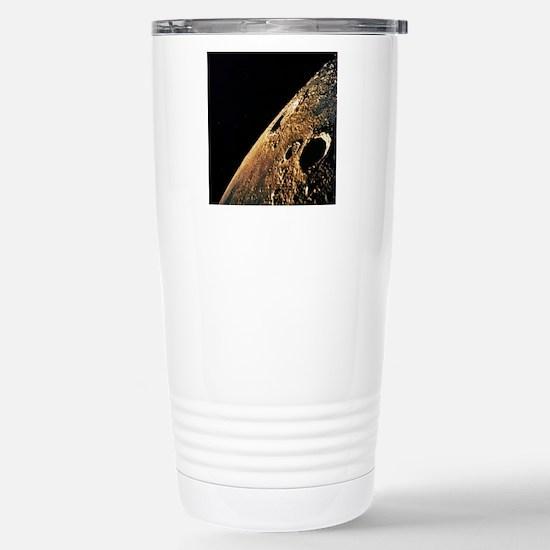 Apollo 12 photo of luna Stainless Steel Travel Mug