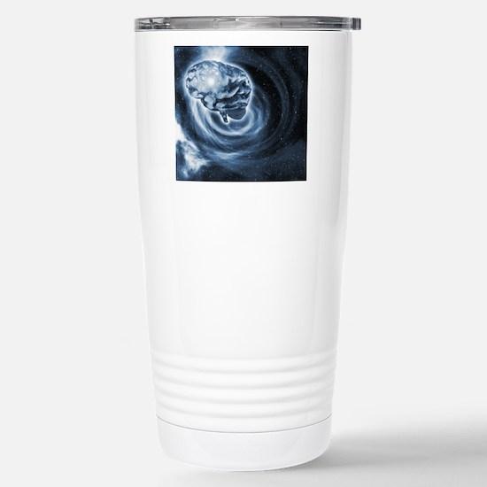 Brain in space Stainless Steel Travel Mug