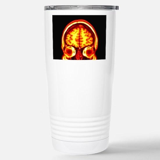 Brain, MRI scan Stainless Steel Travel Mug