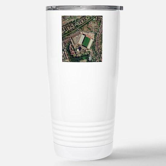Charlton Athletic's Val Stainless Steel Travel Mug