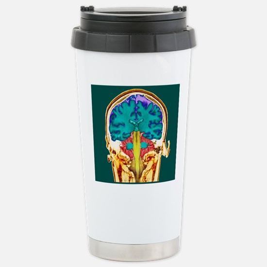 Healthy brain, MRI scan Stainless Steel Travel Mug