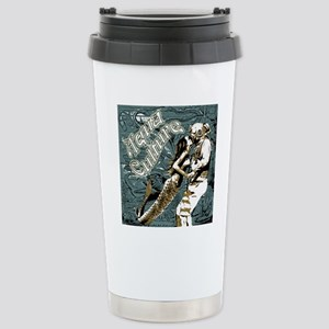 AQUA CULTURE KISS THE D Stainless Steel Travel Mug