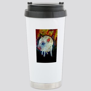 I Love Pigs Stainless Steel Travel Mug