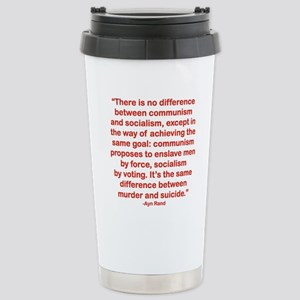 THERE IS NO DIFFERENCE  Stainless Steel Travel Mug