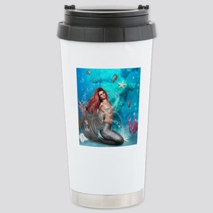 Magic Mermaid Stainless Steel Travel Mug