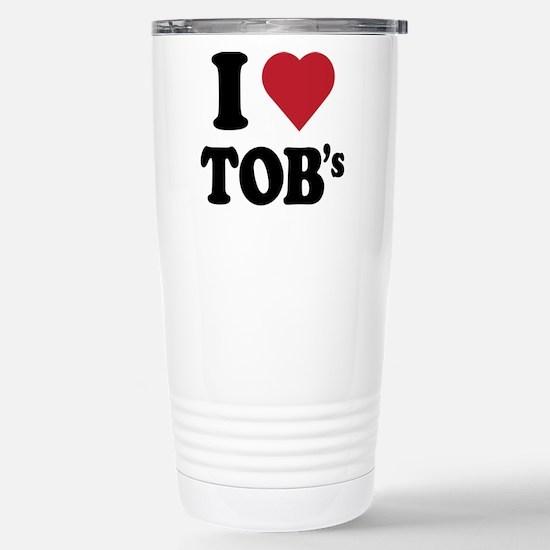 I heart tob's Stainless Steel Travel Mug