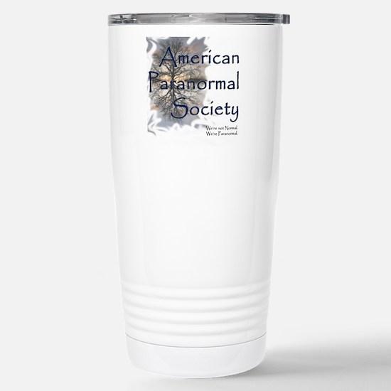 American Paranormal Soc Stainless Steel Travel Mug