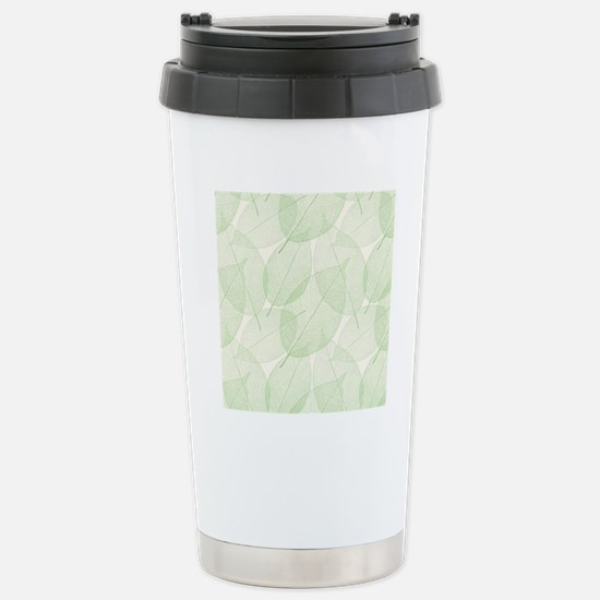 Leaves Stainless Steel Travel Mug