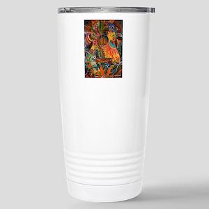 pheonix-print Stainless Steel Travel Mug