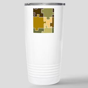 Jigsaw Puzzle Shower Cu Stainless Steel Travel Mug
