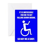 Party-Capped Greeting Cards (Pk of 10)