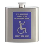 Party-Capped Flask