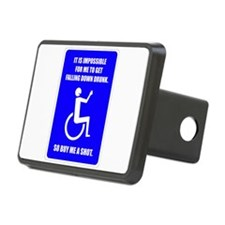 Party-Capped Rectangular Hitch Cover