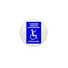 Party-Capped Mini Button (10 pack)