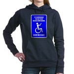 Party-Capped Women's Hooded Sweatshirt