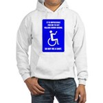 Party-Capped Hooded Sweatshirt