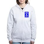 Party-Capped Women's Zip Hoodie