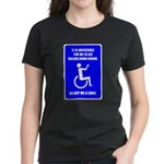 Party-Capped Women's Dark T-Shirt