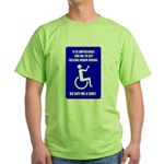 Party-Capped Green T-Shirt
