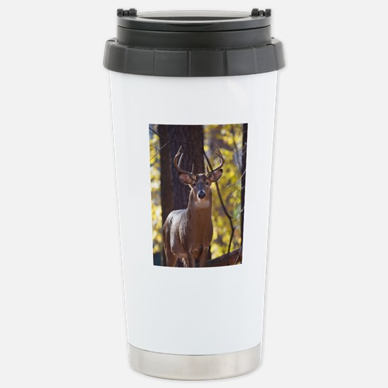 Buck Deer D1312-048 Stainless Steel Travel Mug