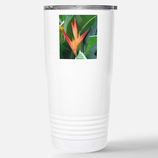 Bird of Paradise Stainless Steel Travel Mug