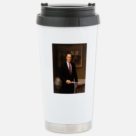 41 George H. W. Bush Stainless Steel Travel Mug