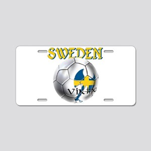 Sweden Football Aluminum License Plate