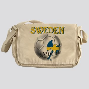 Sweden Football Messenger Bag