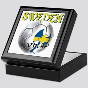 Sweden Football Keepsake Box